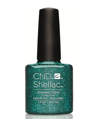 Shellac Emerald Lights