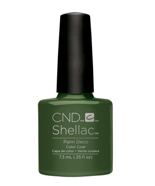 Shellac Palm Deco