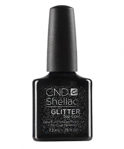 Top Coat Shellac Glitter