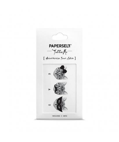 Tatouage éphémère - Trois Chats