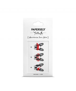 Tatouage éphémère - Trois Chiens