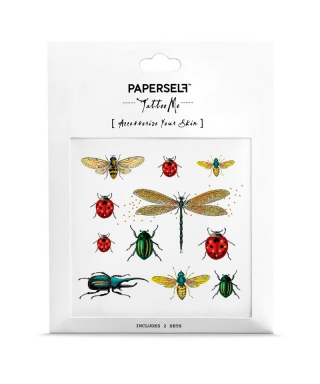 Tatouage éphémère - Bugs