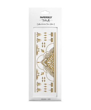 Tatouage éphémère - Henna Gold