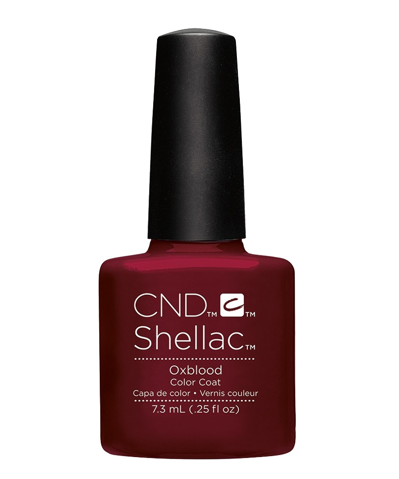 shellac oxblood vernis semi permanent rouge craft culture. Black Bedroom Furniture Sets. Home Design Ideas