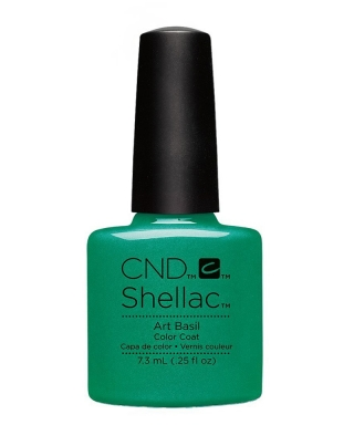 Shellac Art Basil