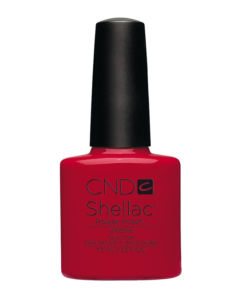 shellac wildfire vernis semi permanent rouge. Black Bedroom Furniture Sets. Home Design Ideas