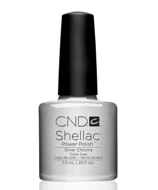 Shellac Silver Chrome