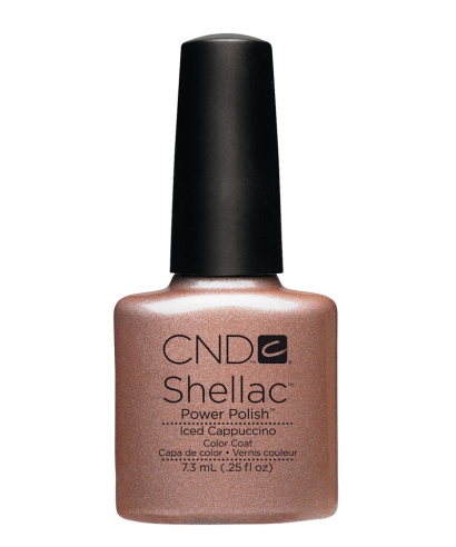 shellac iced cappuccino vernis semi permanent. Black Bedroom Furniture Sets. Home Design Ideas